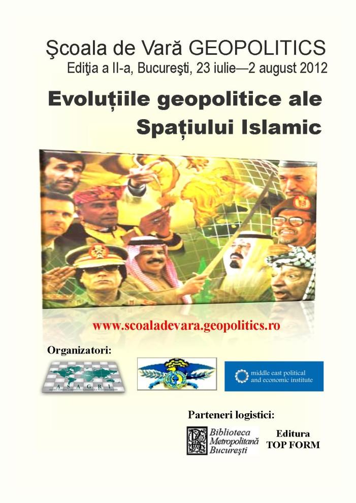 Şcoala de vară GEOPOLITICS 2012