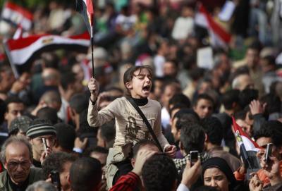 Revoluţia de lotus în Egipt