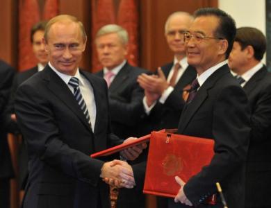 Energia rusească între est şi vest