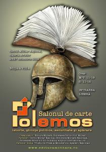 Târgul de carte POLEMOS. Înarmaţi-vă cu cărţi!