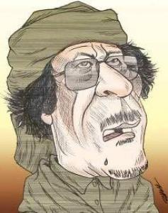 Furia beduinului Gaddafi stârneşte zâmbete