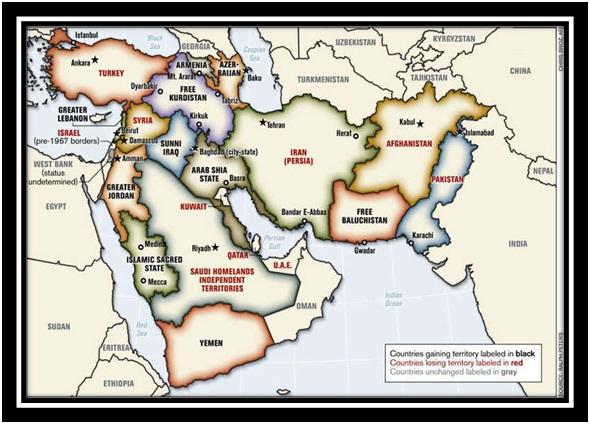 Teoria haosului constructiv: SUA și Noul Orient Mijlociu