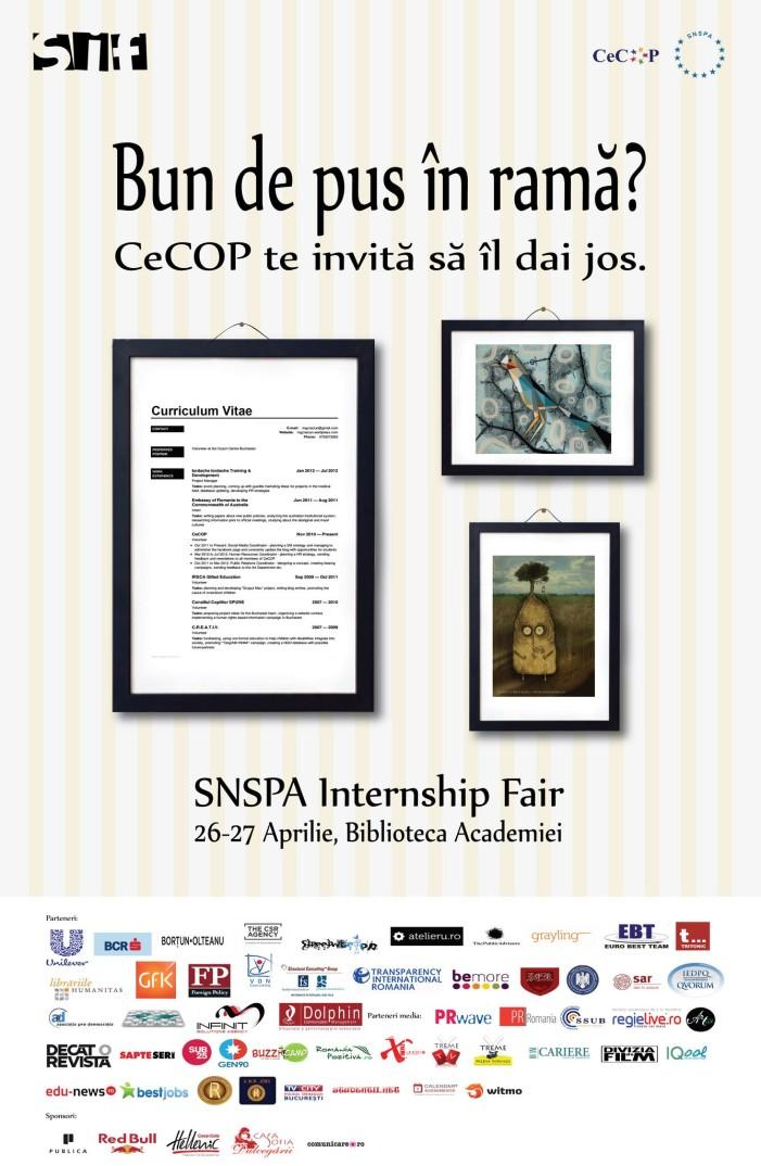 Geopolitics.ro, prezent la SNSPA Internship Fair
