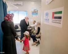 Ajutorul furnizat refugiaților sirieni de Emiratele Arabe Unite și statele din Golf