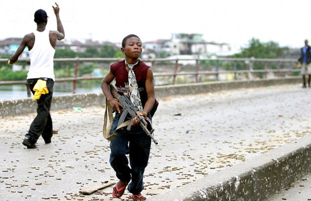 Problema copiilor-soldaţi pe continentul african